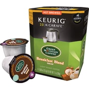 Keurig® 2.0 K-Carafe™ Pack Green Mountian® Breakfast Blend Coffee, Decaf, 8/Pack