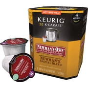 Keurig® 2.0 K-Carafe™ Pack Newman's Own® Organics Special Blend Coffee, 8/Pack