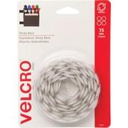 "VELCRO® Brand Sticky Back™ Coins 5/8"", White, 75 sets"