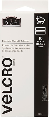 VELCRO® Brand Industrial Strength Extreme Strips, 4