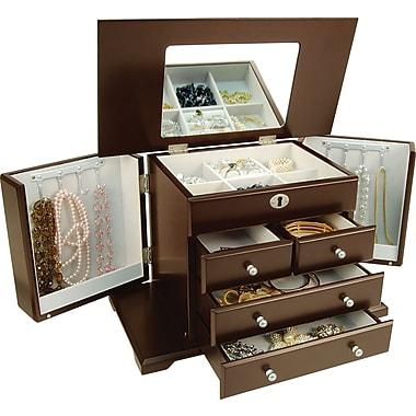 Evelyn Jewellery Box, Walnut