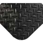 Wearwell – Tapis tressé anti-fatigue à motifs losange SpongeCote, 9/16 po d'épaisseur, 3 x 5 pi