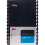 "Staples® 1 Subject Notebook, Assorted Colors, 7-3/4"" x 5"", 3/Pack (11670)"