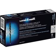 uni-ball Onyx Rollerball Pens, 0.7mm, Blue, 12/Pack