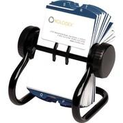 Rolodex™ - Fichier rotatif pour cartes, 200 protecteurs, 2 5/8 po x 4 po