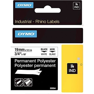 DYMO® Rhino Label Tape, 19mm (3/4