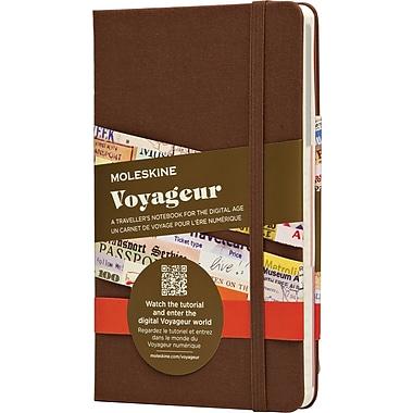 Moleskine - Cahier de notes Voyageur, brun muscade, couverture rigide, 4 1/2 po x 7 po