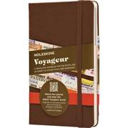Moleskine Voyageur Traveller's Notebook, Nutmeg Brown, Hard Cover, 4-1/2'' x 7''