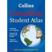 Collins - Canadian Student Atlas, anglais