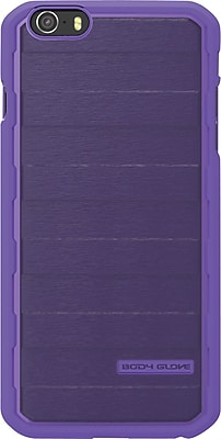 Body Glove Rise Case for iPhone 6, Purple Brushed Metal