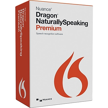 Nuance Dragon NaturallySpeaking Premium V13, English