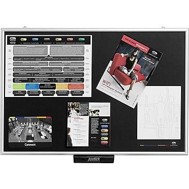 Justick® Electro-Adhesion Display & Bulletin Board LITE 36