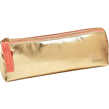 Poppin Gold Pencil Pouch Staples 174
