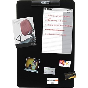 "Justick Electro-Adhesion Display & Bulletin Board, Frameless, 16"" x 24"" (JB301-S)"