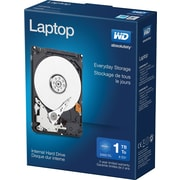 "WD Mainstream 1 TB Laptop Internal Hard Drive, SATA, 3GB/s, 2.5"" (WDBMYH0010BNC)"