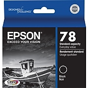 Epson 78 Black Standard Yield Ink Cartridge