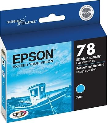 Epson 78 Cyan Ink Cartridge (T078220)