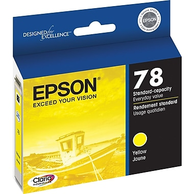Epson 78 Yellow Ink Cartridge (T078420)