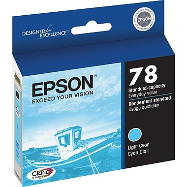 Epson® 78 (T078520) Light Cyan Ink Cartridge