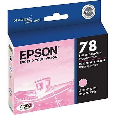Epson® 78 (T078620) Light Magenta Ink Cartridge