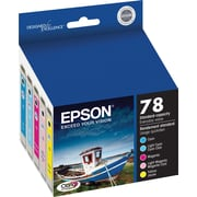 Epson® 78 (T078920) Colour Ink Cartridges, Combo Pack (TO78920)