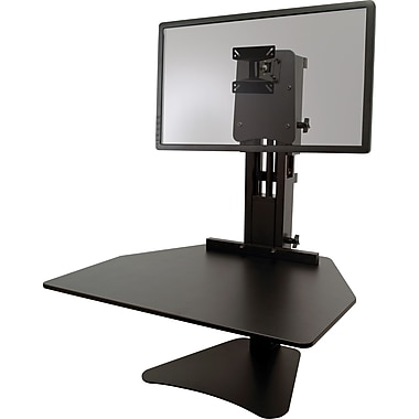 victor technology dc300 high rise sitstand desk converter