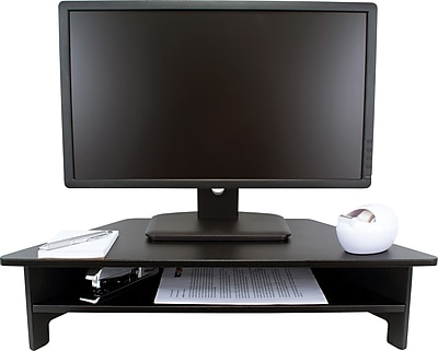 Victor® Wooden Desktop All-In-One Monitor Riser, DC050 High Rise