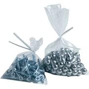 """Reclosable Polyethylene Bags, 6"""" x 8"""", 6 mil"""
