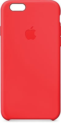 Apple® iPhone® 6 Silicone Case, Red