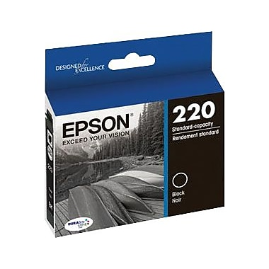 Epson 220, Black Ink Cartridge (T220120)