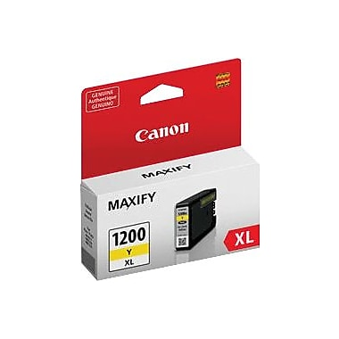 Canon PGI-1200XL Yellow Ink Tank, High Yield