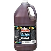 Prang® (Dixon Ticonderoga®) Washable Ready-to-Use Paint, Brown, 128 oz.
