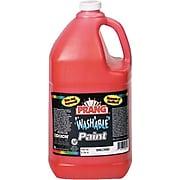 Prang® (Dixon Ticonderoga®) Washable Ready-to-Use Paint, Orange, 128 oz.