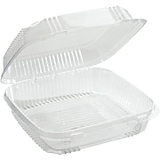 Pactiv® Smartlock® Food Container, Clear, 49-oz., 200/Pack