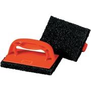 Scotch-Brite PROFESSIONAL Scotchbrick Griddle Scrubber 9537, Red/Black, 12/Carton (MCO 59203)