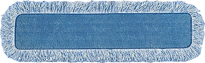 High Absorbency Mop Pad, Nylon/Polyester Microfiber, 18