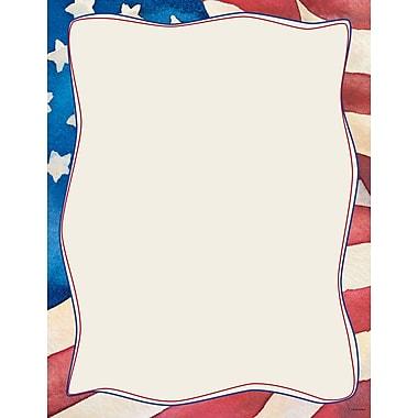 Great Papers® Patriotic Letterhead, 80/Pack