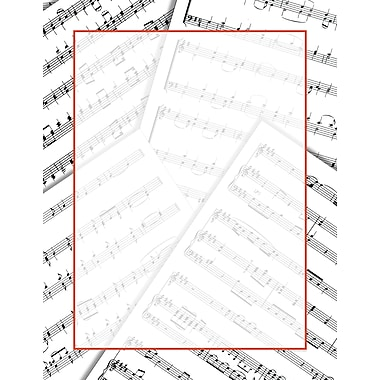 Great Papers® Sheet Music Letterhead, 80/Pack