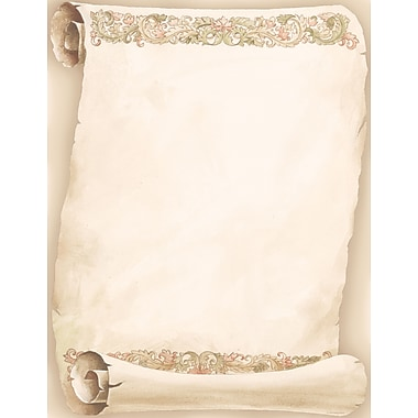 Great Papers® Florentine Scroll Letterhead, 80/Pack