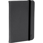 "M-Edge Universal Folio Plus Case for 9"" to 10"" Tablets, Black with Black (U10-FP-MF-B)"