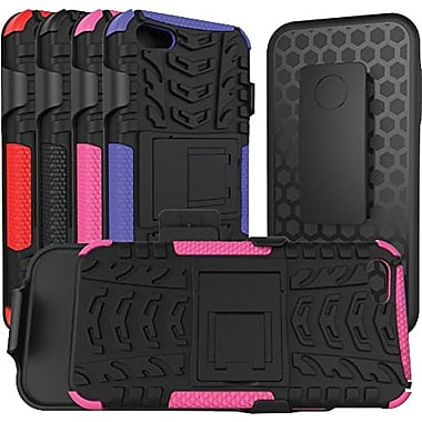 URGE Basics Armor Clip Case for iPhone 5, Black Pink