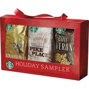 Starbucks® Seasonal Coffee Sampler Gift Set, 6/Bx