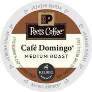 Keurig K-Cup Peet's Cafe Domingo Coffee, Regular, 22 Pack