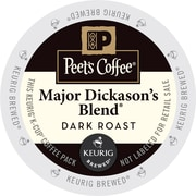 Peet's Coffee® Major Dickason's Blend K-Cup® Pods, Pack of 88 (65470)