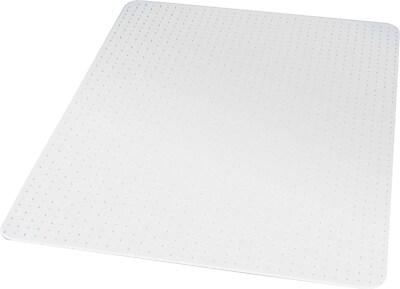 Staples 45x53 Low Pile Chair Mat, No Lip (27014-US/CC)