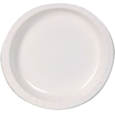 Dixie Basic™ 8.5\  Paper Plate White 125 per pack  sc 1 st  Staples & Disposable Plates | Staples