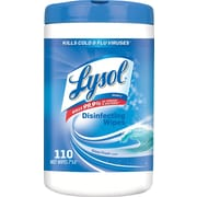 Lysol® Disinfecting Wipes, Ocean Fresh Scent, 110 Wipes/Tub