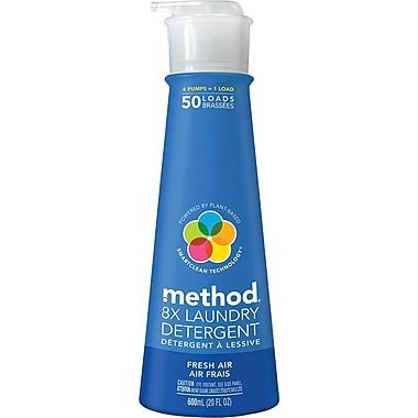 Method® HE Laundry Detergent, Fresh Air, 20 oz.