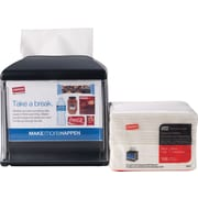 Staples® Tork Xpressnap® Cafe Dispenser and Pack of Napkins Starter Kit, black