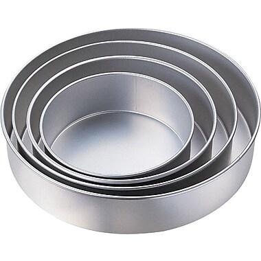 Wilton Performance Pans 4-Tier Deep Round Cake Pan Set (2105-2932)